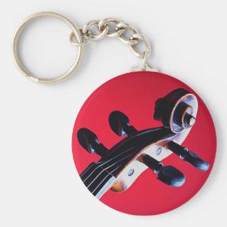 Fiol eller Viola Keychain eller nyckelring