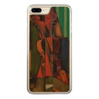 Fiol och gitarr av Juan Gris Carved iPhone 7 Plus Skal