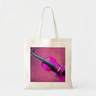 FiolViolatotot hänger lös den rosa fiolen Tygkasse