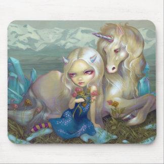 Fiona och unicornen Mousepad Musmatta