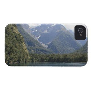 Fiordland nationalpark som är nyazeeländsk iPhone 4 Case-Mate skal