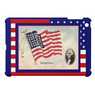 Fira 4th Juli, George Washington iPad Mini Mobil Skal