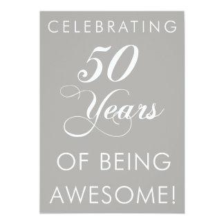 Fira 50 år av att vara enorm inbjudan