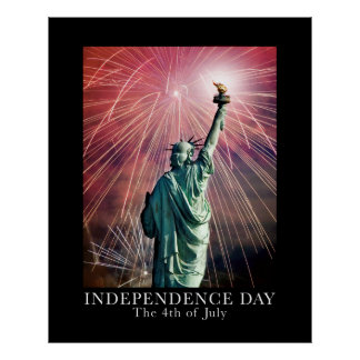 Fira Amerika independence day Poster