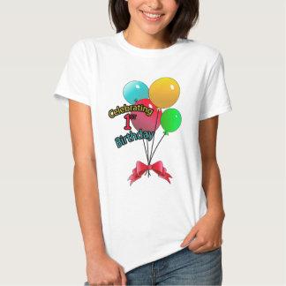 Fira den 1st födelsedagen tee shirts
