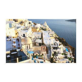 Fira Grekland Canvastryck