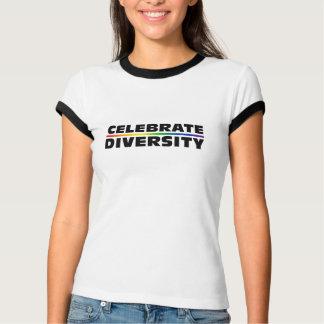 Fira T-tröja för mångfalddamringeren Tshirts