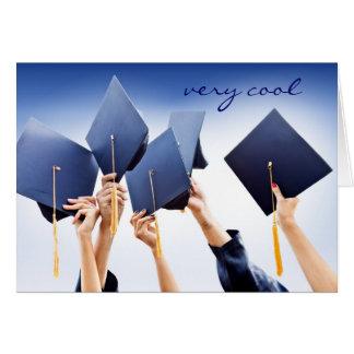 Firande av studentenkortet hälsningskort