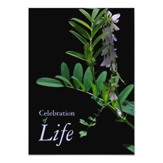 Firande för indigoblått 1 av 11,4 x 15,9 cm inbjudningskort