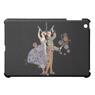 Firande för party för vintageart nouveau WW1 iPad Mini Skal