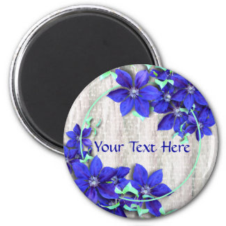 Firandemagnet för purpurfärgad Clematis Magnet