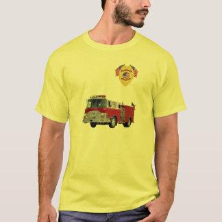 Fire_Truck_Flags T Shirts