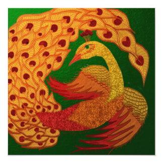 Firebird Fyrkantigt 13,3 Cm Inbjudningskort