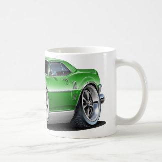 Firebird grön bil 1968 kaffemugg