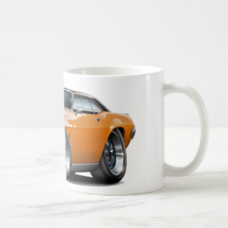 Firebird Orange-Svart bästa bil 1969 Kaffemugg