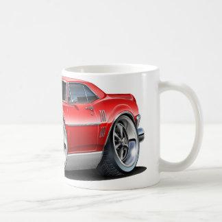 Firebird röd bil 1967 kaffemugg