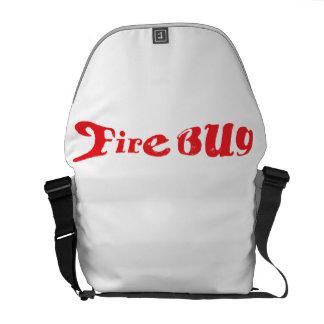 FireBugbudbärarebaksida - packe Messenger Bag