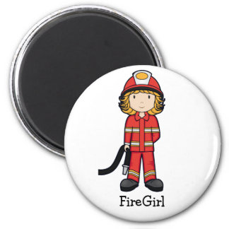 FireGirl Magnet