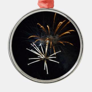 fireworks.JPG Julgransprydnad Metall