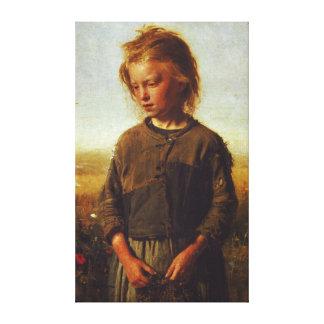 Fisher flicka, 1874 canvastryck