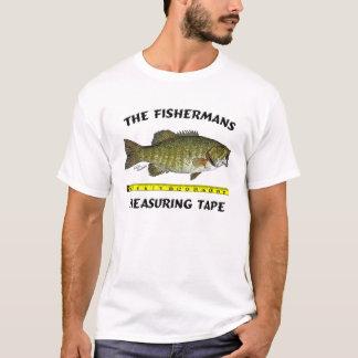 Fishermans att mäta tejpar t shirts