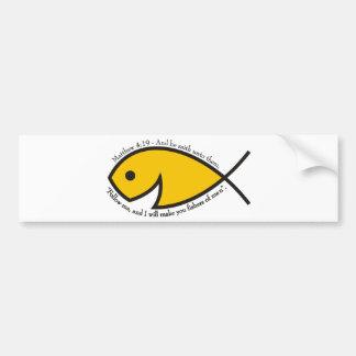 Fishers av manar - Matthew 4:19 Bildekal