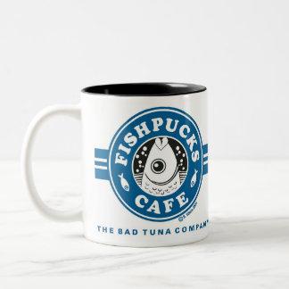 Fishpucks kaffemugg