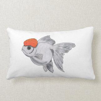 Fisk för husdjur för akvarium för vit- och lumbarkudde