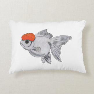 Fisk för husdjur för akvarium för vit- och prydnadskudde