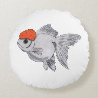 Fisk för husdjur för akvarium för vit- och rund kudde