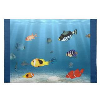 Fisk i hav bordstablett