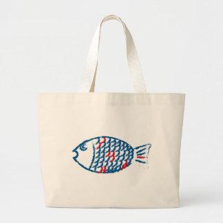 Fisk Jumbo Tygkasse