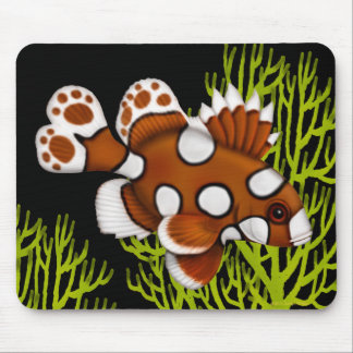 Fisk Mousepad för HarlequinSweetlips rev Musmatta