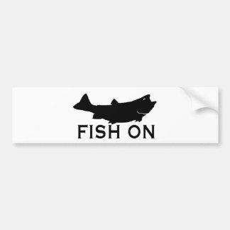 Fisk på bildekal