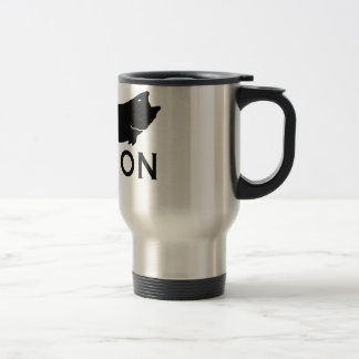 Fisk på kaffe kopp