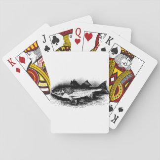 Fisk som leker kort! casinokort