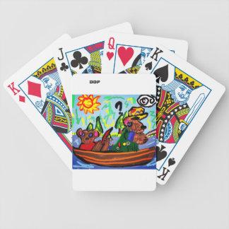 fiska björnkonst spelkort