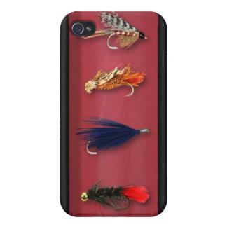 Fiska flugor, maskerat fodral, iphone case iPhone 4 skal