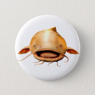 Fiska leende standard knapp rund 5.7 cm