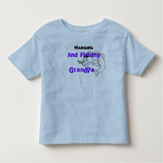 Fiska med morfar tshirts