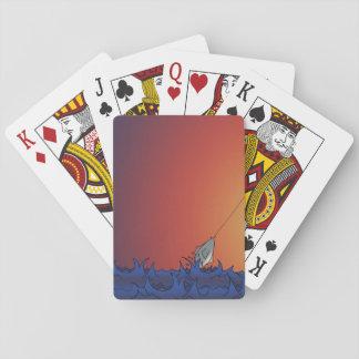 Fiska på soluppgången casinokort