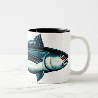Fiskar ganska Två-Tonad mugg