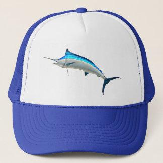 Fiske för blåttMarlinlek Truckerkeps
