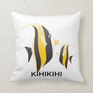 Fisken för den Hawaii Moorishförebilden kudder Kudde