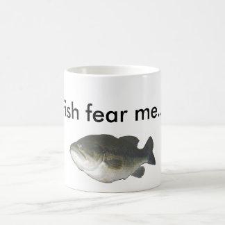 Fisken fruktar mig… kaffemugg