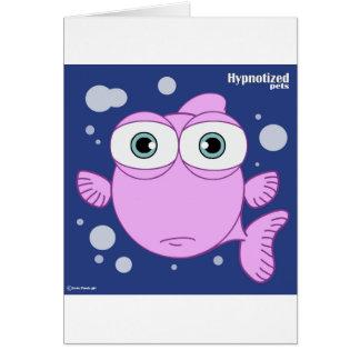 Fiskkortet, standard vit packar inklusive in hälsningskort