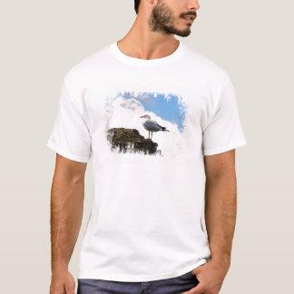 Fiskmås på enVägg i Rome T-shirts