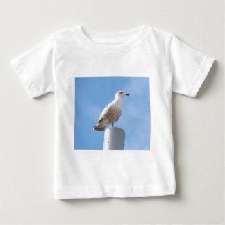 Fiskmås på pol tee shirt
