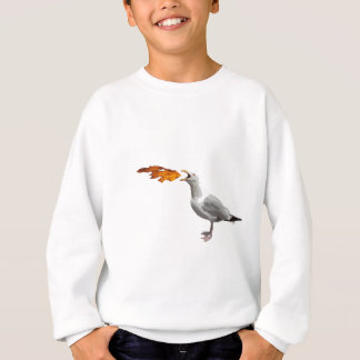 Fiskmåsandning avfyrar t-shirt