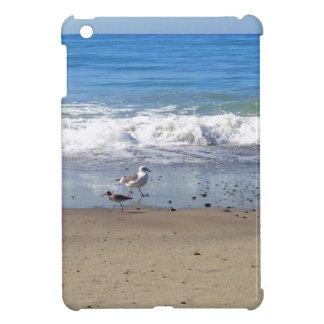 Fiskmåsar på fodral för strandiPadkortkort iPad Mini Mobil Fodral